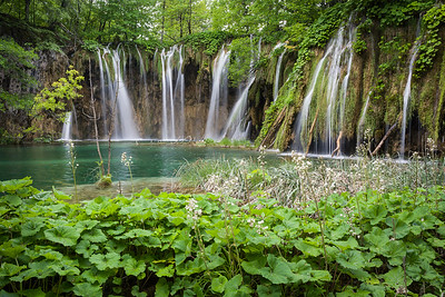 Waterfalls Below Galovac Jezero