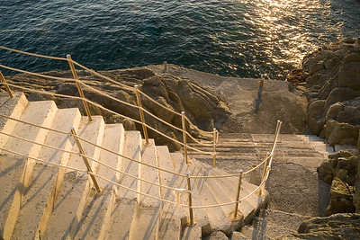 Steps to the Mediterranean