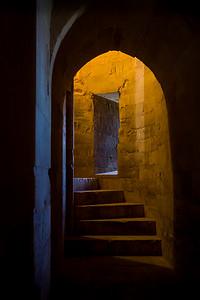 Castel del Monte Stairwell