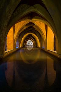 Baths of Lady Maria de Padilla, Seville, Spain