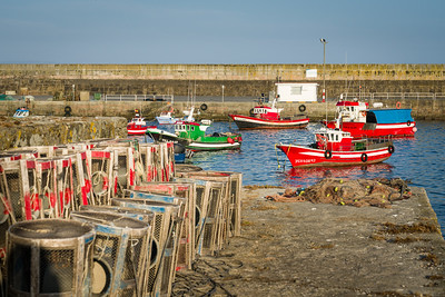 Boats in Harbour at Finisterre