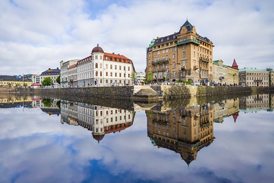 'Floating City' - Gothenburg, Sweden