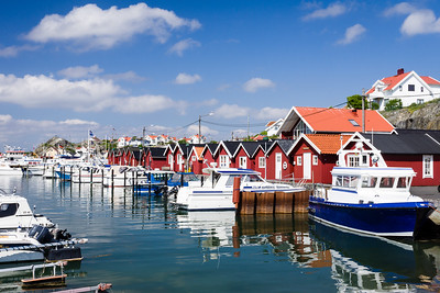 Donsö Harbor, Sweden