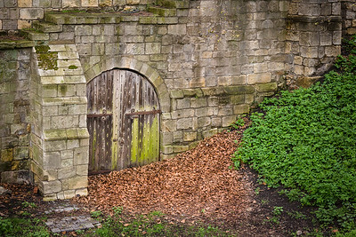 Doorway in York City Walls