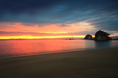 Sunrise at Kaiteriteri