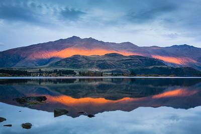 West Wanaka Sunset