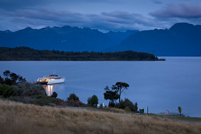Te Anau Ferry, South Island, New Zealand
