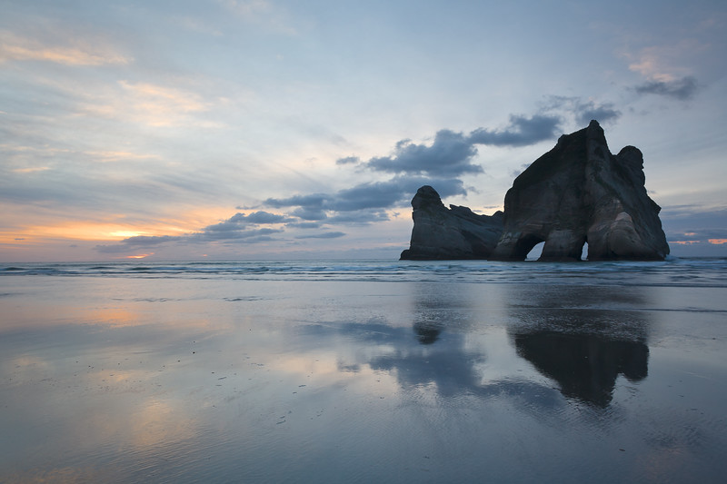 Elephant Rock, New Zealand