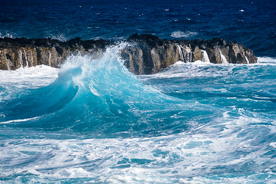 'Crashing Wave' - Hawai'i Island, Hawai'i