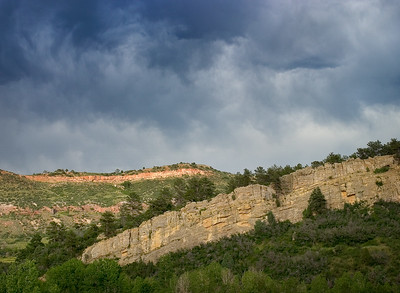 Storm Over the Hogback