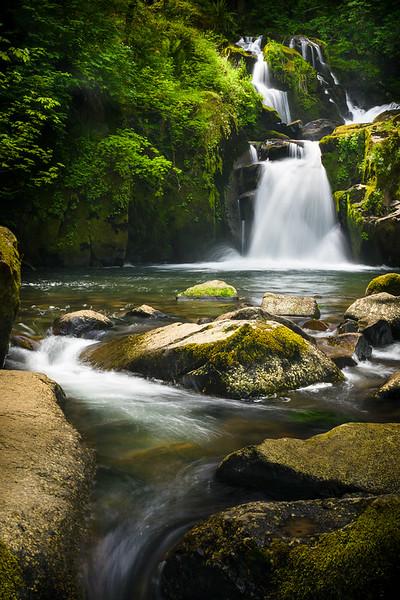 Sweet Creek Falls, Oregon