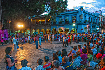 Zocalo en Oaxaca