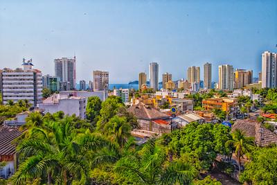 La vista desde Costa Azul