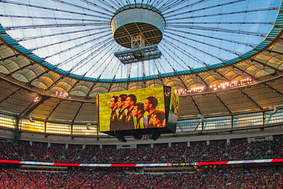 El TRI at BC Place