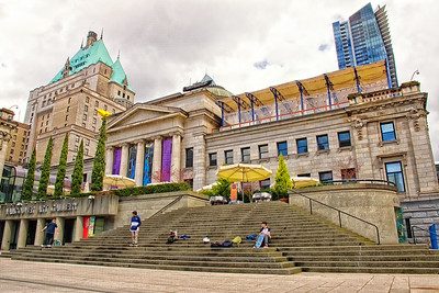 April - Vancouver - Art Gallery