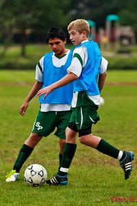 sphs jv soccer vs sayreville 9/20/11