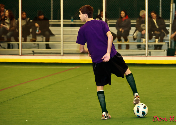 Indoor soccer - Chris - January 23