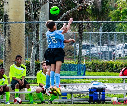 Soccer at Mullins 12/15/13
