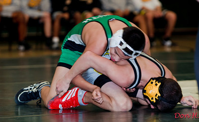 Tigers wrestling vs South Brunswick 1/19/11