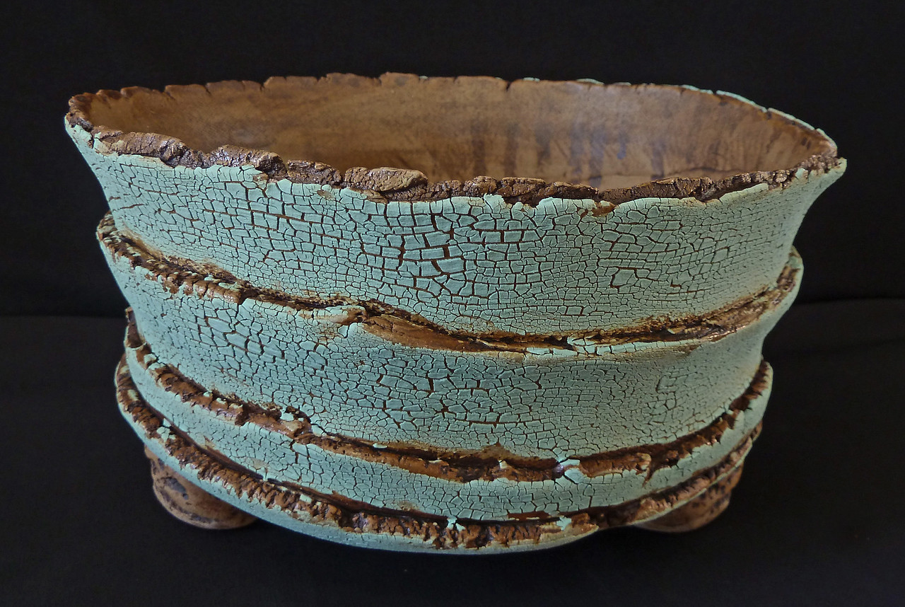 """#2032 9"""" round, 4"""" deep, 5"""" tall ***SOLD***"""