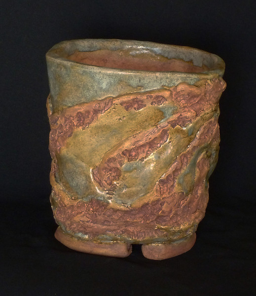 """2003 4 1/2"""" rounded square, 5"""" deep, 5 3/4"""" tall **SOLD**"""