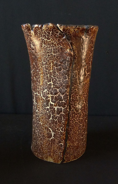 """#2074 4"""" round, 4"""" deep (the bottom is about half way down the piece), 9 1/2"""" tall  $50.00 **SOLD**"""