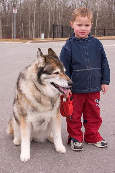 Sasha and Matthew 2004
