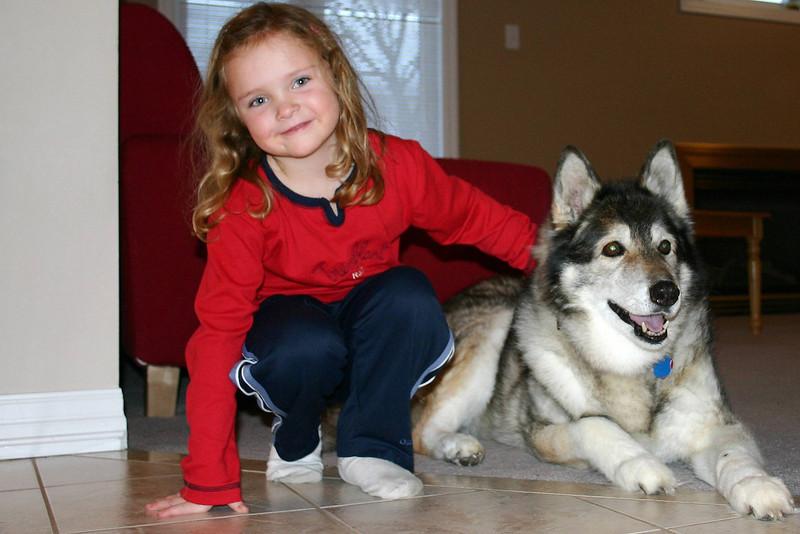 Sasha and Rachel 2004