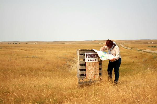 Juni Tours Prairie County, Montana: 8/5/07
