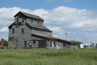 Defunct North Dakota Grain Elevator