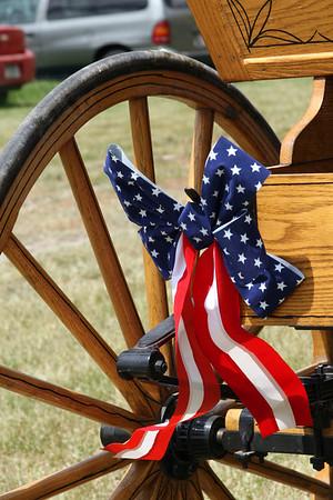 Medora Flag Day Parade, Medora, N.D.:  6/14/09