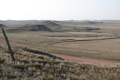 John Wicka Farmstead in the Distance