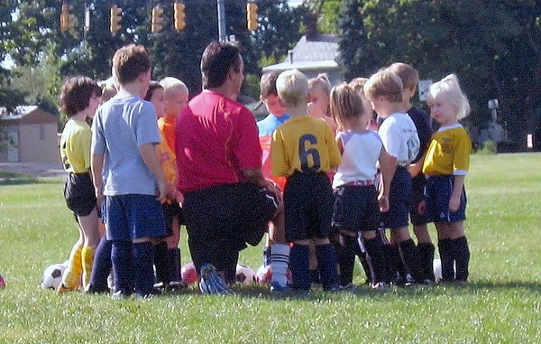 09.03.05 U6 Soccer Clinic