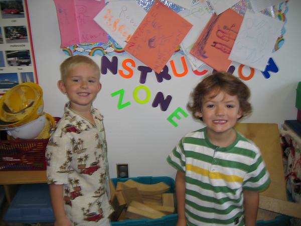 09.14.05 Matt's 1st Day of Pre-K @ MySchool Preschool