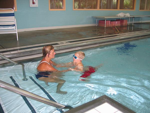 09.14.05 Matt's Swim Lesson @ Oxford
