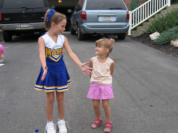 09.24.05 Kate & Jedry's Cheerleading