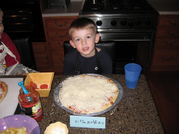 10.26.05 Ben and Matt Making Pizza's