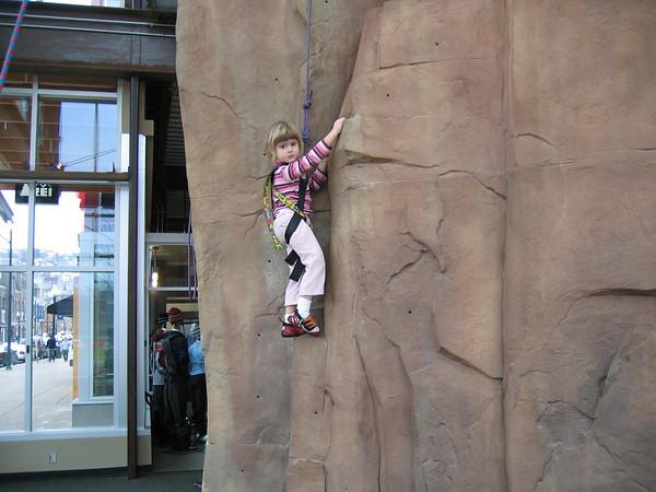 12.30.05 Rock Climbing @ REI
