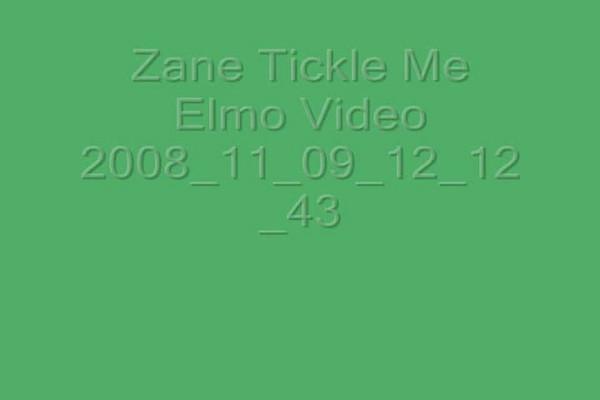 01.15.06 Zane Tickle Me Elmo Toy