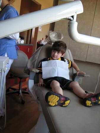 09.19.08 Zane 1st Dentist Visit
