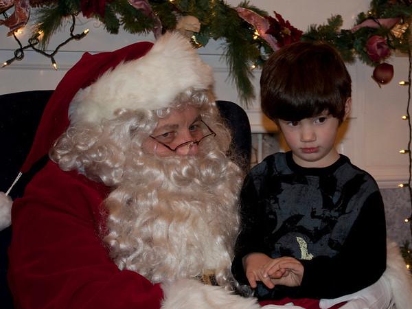 12.06.08 Santa Preschool PJ Party