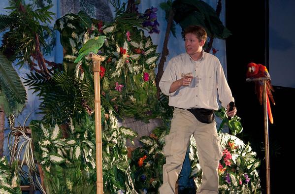 01.22.09 Eden Christian Academy RainForest