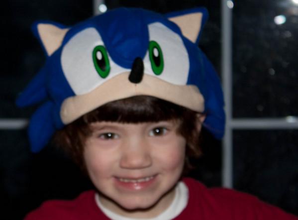 01.28.09 Zane Sonic Hat