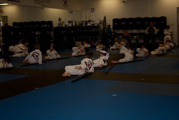 02.07.09 Zane ATA Orange Belt Taekwondo
