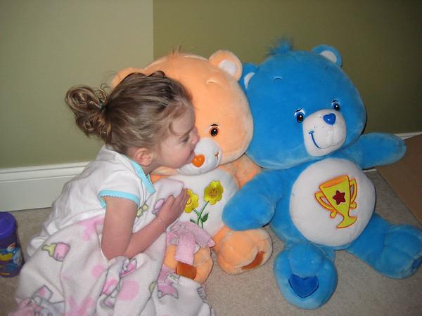 02.28.09 Remi Care Bear Morning