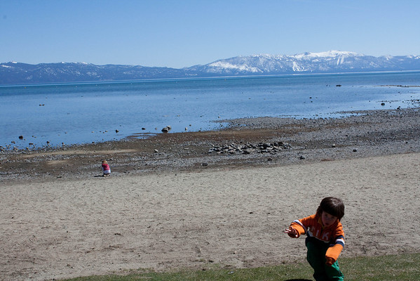 03.28.09 The Beach at Lake Tahoe