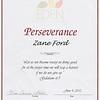 Zane PreK 4 Eden Award