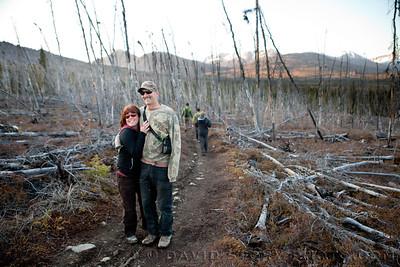Joey and Darla. Hidden Creek Trail. AK.