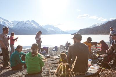 Kenai Lake BBQ.