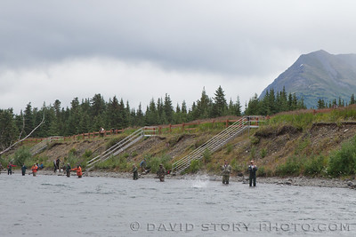 Angling along the Kenai.